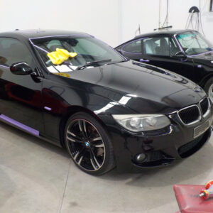 BMW smash repaired back to original factory condition.