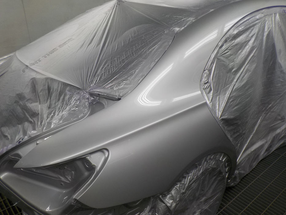 No shortcuts with our Mercedes auto body repairs