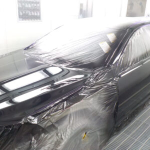 Using advanced sprayingmethods to make sure this vehicle trully has undetectable repairs